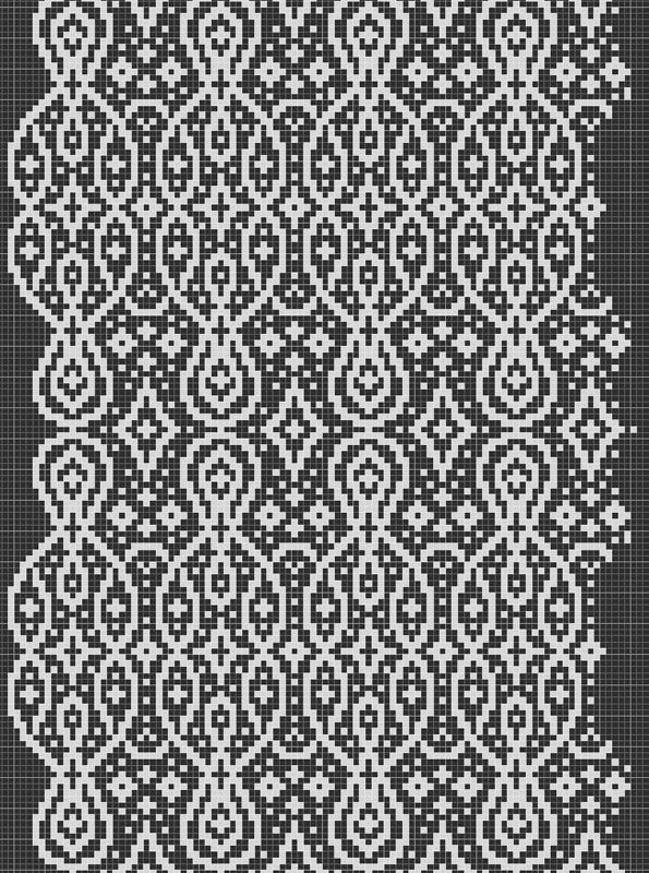 611 best images about Colorwork charts: Borders and overall patterns on Pinte...