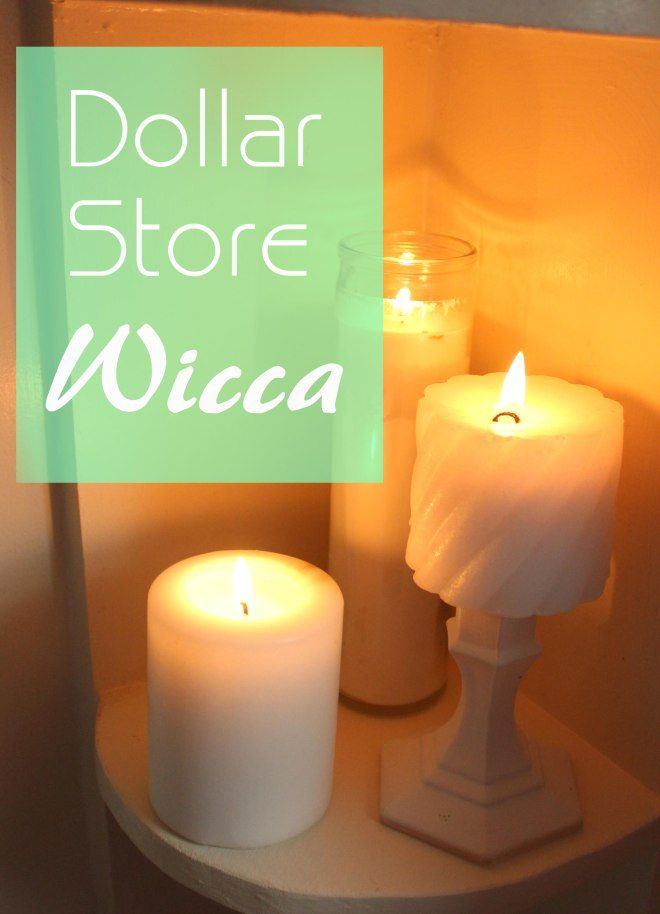 9 Ritual Items Commonly Found at the Dollar Store.  For wicca on a budget!