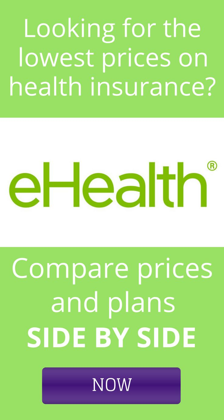Get the cheapest health insurance plans and prices by comparing rates using eHealth Insurance for your family or individual. If you find rates lower than $300 per month, you'll want to grab them!