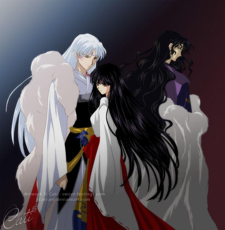 Inuyasha Jakotsu And Naraku: Sesshomaru X Kikyou X Naraku