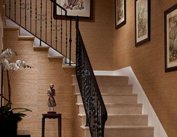 125 best grasscloth wallpaper images on pinterest bathroom for the home and bathrooms. Black Bedroom Furniture Sets. Home Design Ideas