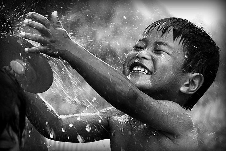 Child playing in Thailand