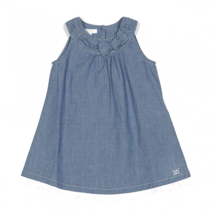 GUCCI | Cotton denim dress | TheMiniBag