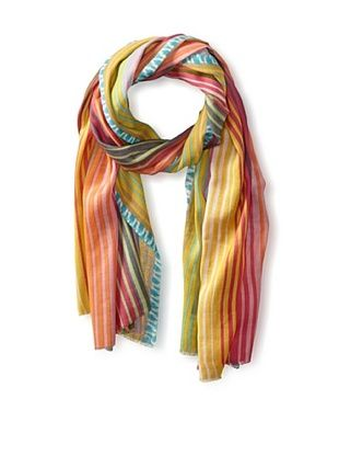 55% OFF Tolani Women's Striped Scarf, Pink