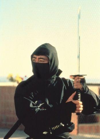 Sho Kosugi In A Scene From Revenge Of The Ninja