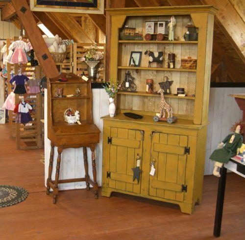 Primitive Country Furniture | Primitive Furniture At The Big Red Barn