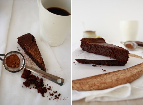Lavender-Earl Grey Flourless Chocolate Cake Recipe — Dishmaps