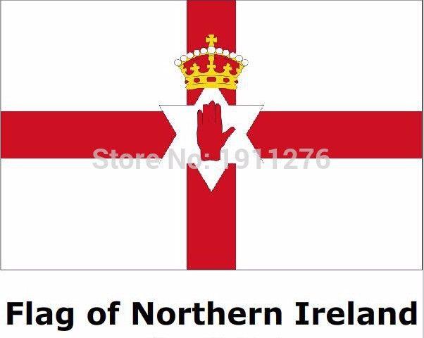 Северная ирландия флаг 4ft x6 ft висит флаг полиэстер северной ирландии флаг крытый 120 x 180 см большой флаг для празднования