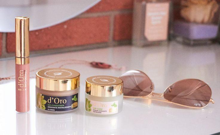 Make Up Naturale | D'Oro Helan | Fondotinta, Lip Scrub & Rossetto
