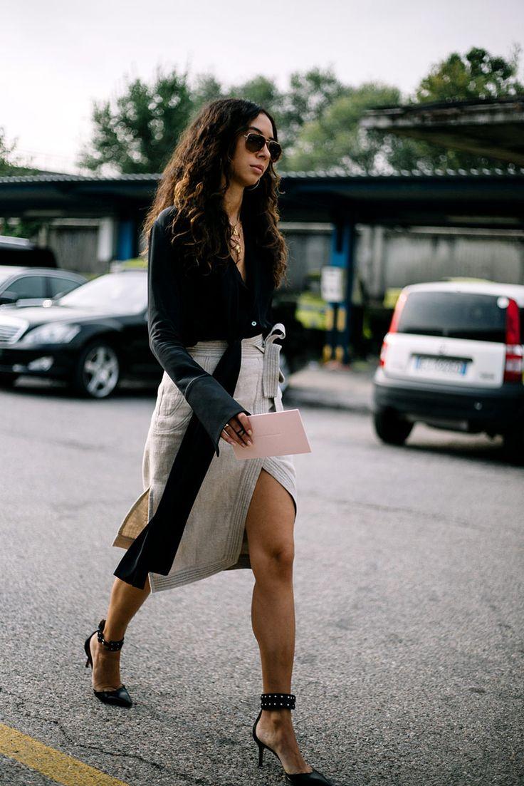 Street Style de Milan Fashion Week Primavera Verano 2017 | Galería de fotos 14 de 68 | VOGUE
