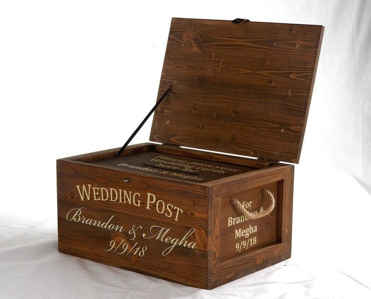 large wedding card box with lock post box keepsake box