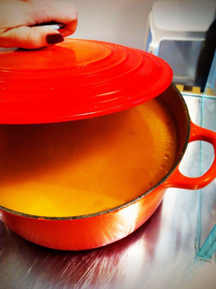 what's cooking? #soup #pumpkin @NanuRoma www.nanubagelbar.it