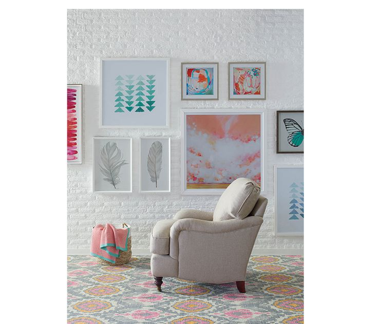 Pretty in Pink  and blue   The Brooke Chair atop the Raquel Rug. 30 best living images on Pinterest   Boston interiors  Furniture