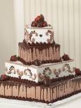 This is a grooms cake we make at work Publix has the best cakes<3