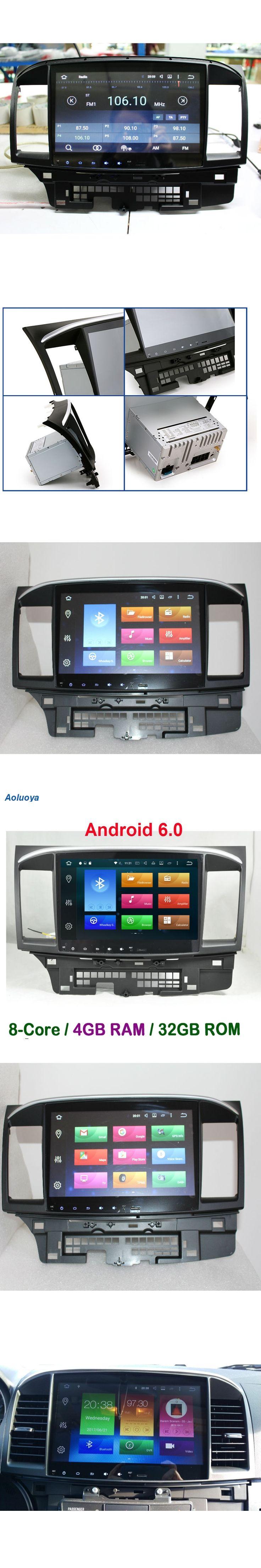 Aoluoya RAM 4GB Octa Core Android CAR DVD GPS Player For Mitsubishi Lancer 2007-2013 2014 2015 Audio Radio Navigation WIFI DAB+
