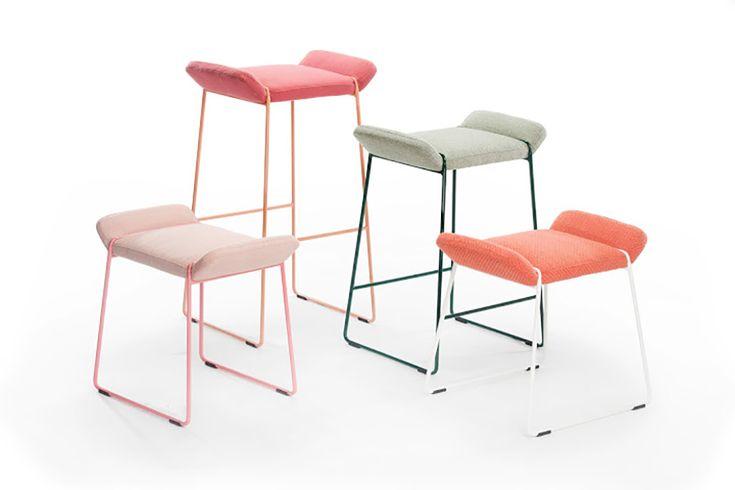 Tabouret Frankie by Färg & Blanche pour Johanson Design.