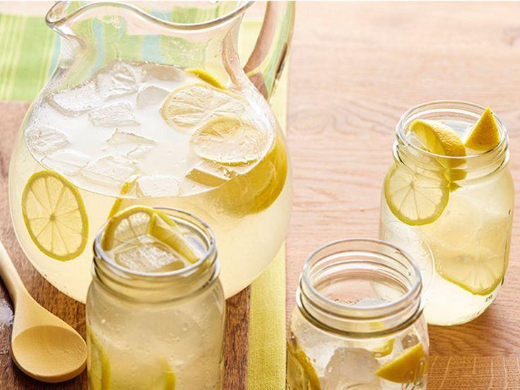 Gina's Homemade Lemonade recipe from Patrick and Gina Neely via Food Network