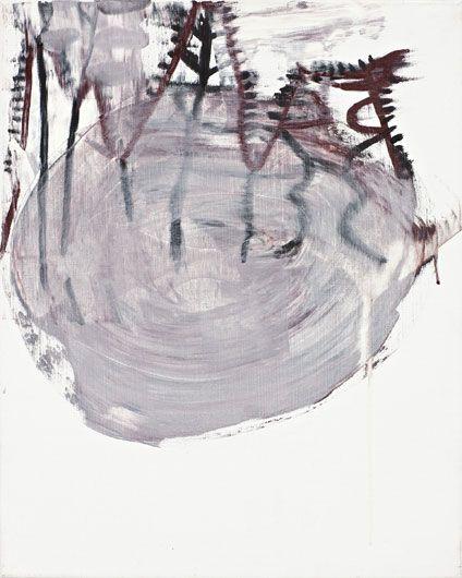 Olav Christopher Jenssen,Grenadine Painting/Wednesday, 2009  Oil on canvas  52 x 42 cm