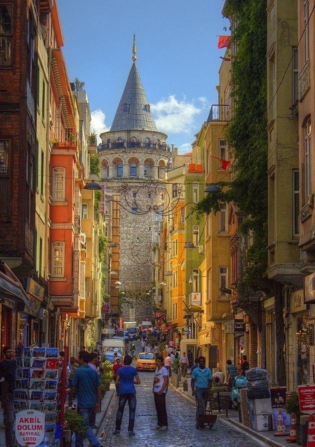 Galata Tower. Istanbul