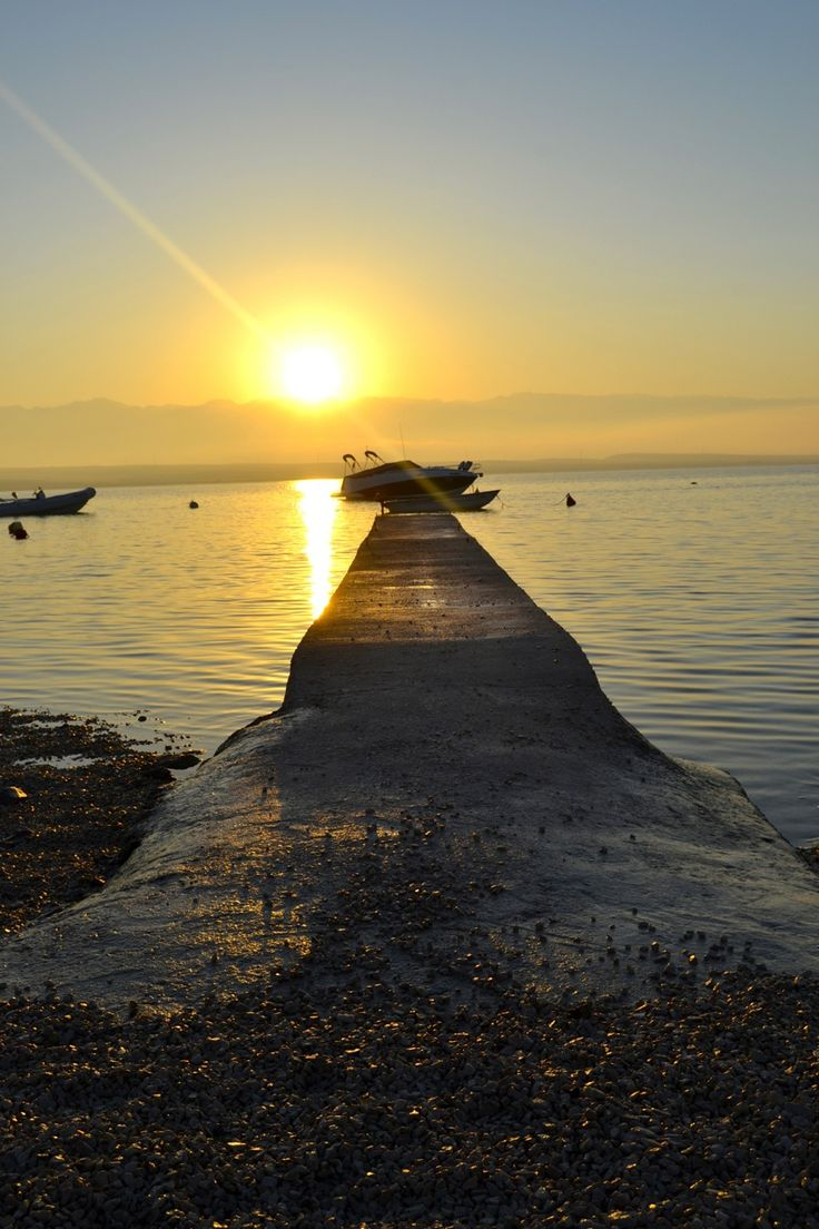 Sunrise. Croatia. Vir island.