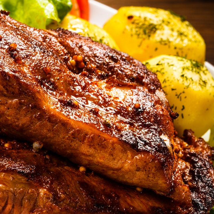 This oven roasted rib recipe produces tender, juicy ribs. They are first boiled, then coated in the sauce and placed to bake for up to three hours.   . Oven Roasted Ribs   Recipe from Grandmothers Kitchen.