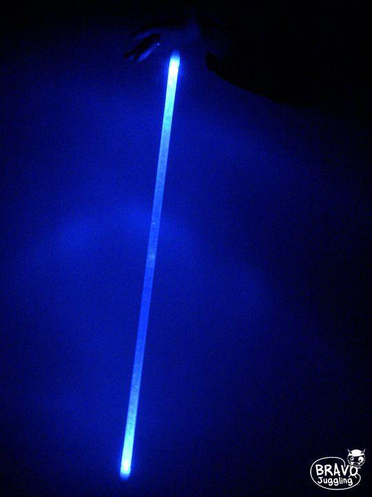 Bravo Bright LeviStick - LED light levistick / flow wand - from Bravo Juggling order: bravojuggling@gmail.com