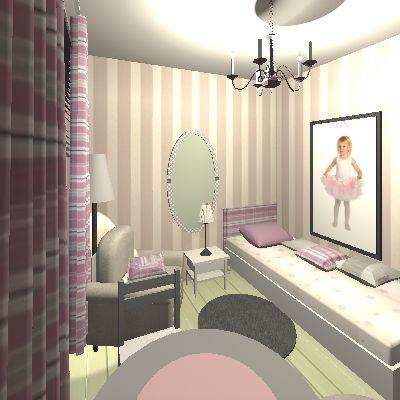 Tytön huone 3D project