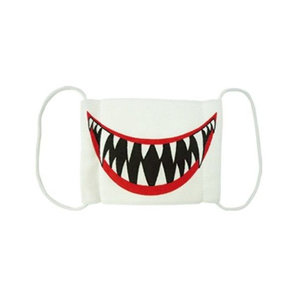 shark doctor medical face mask halloween costume party geek novelty liked on polyvore featuring costumes accessories masks bags fillers misc - Halloween Costume Shark