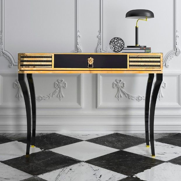 Most Expensive Console Tables Worldwide Black Console Table