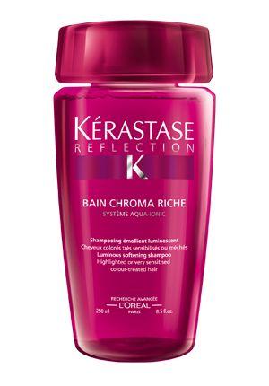 Bain Chroma Riche #Kerastase #Reflection #ChromaCaptive #Hair #Beauty #Haircare #Hairstyle