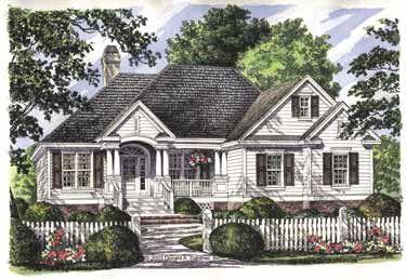 Custom styled ceilings hwbdo10228 country house plan for Custom country house plans