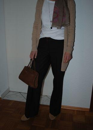Kaufe meinen Artikel bei #Kleiderkreisel http://www.kleiderkreisel.de/damenmode/schlaghosen/118656494-braune-marlene-dietrich-hose-gr-34-von-pa-blogger