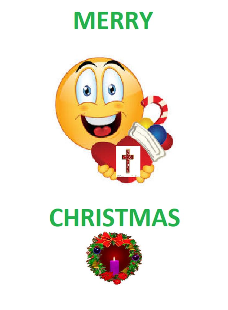 The Merry Christmas Sanctified Emoji: not sacrilege just in good spirits - correction - Spirit