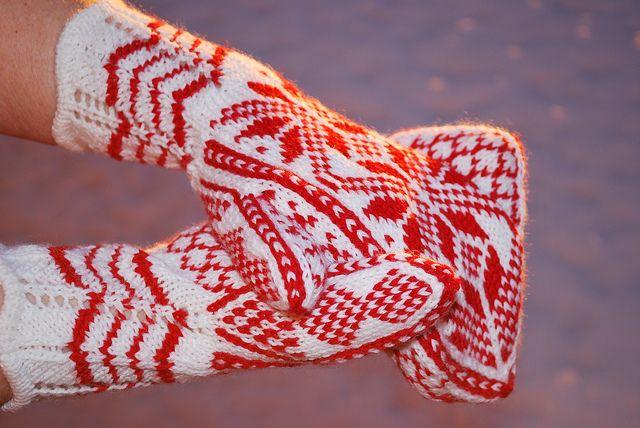Vantar med mönster