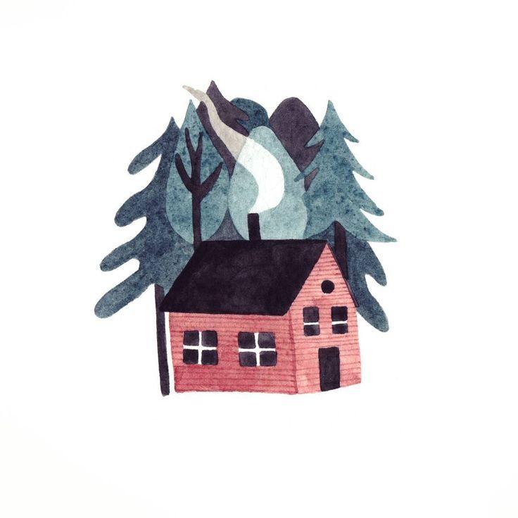 Fran Murphy - Cabin in the woods