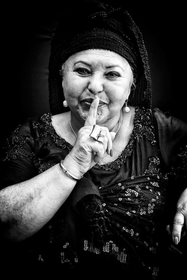 Singer Esma Redzepova, aka Queen of the Gypsies