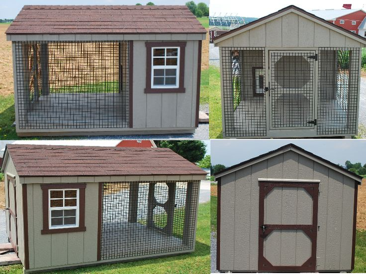 Dog Kennel Designs smaller style... but I still like it.