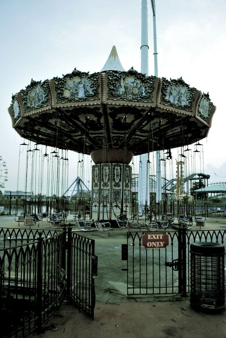 abandoned theme park in New Orleans, Louisiana. It closed before Hurricane Katrina struck in August 2005 and is currently owned by the City of New Orleans.