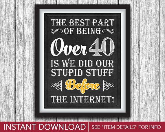 42 best cheers and beers to 40 years birthday party images on 40th birthday sign the best part of being over 40 cheers and beers to 40 years theme printable 8x10 sign instant download stopboris Images