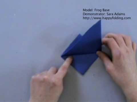 Frog Base: Instructions   Happy Folding