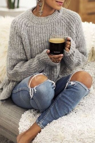 45 Comfy Cool Winter Outfit Ideas