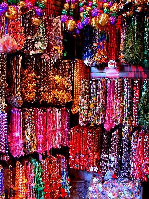 New Orleans, Louisiana #NOLA - Mardi Gras Beads
