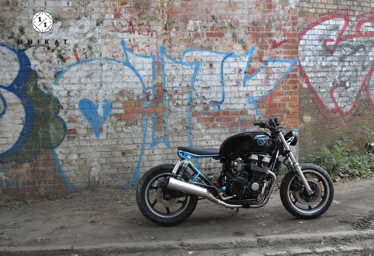 Honda CB 750 Seven Fifty - muscle streetfighter custom by Unikat Motorworks