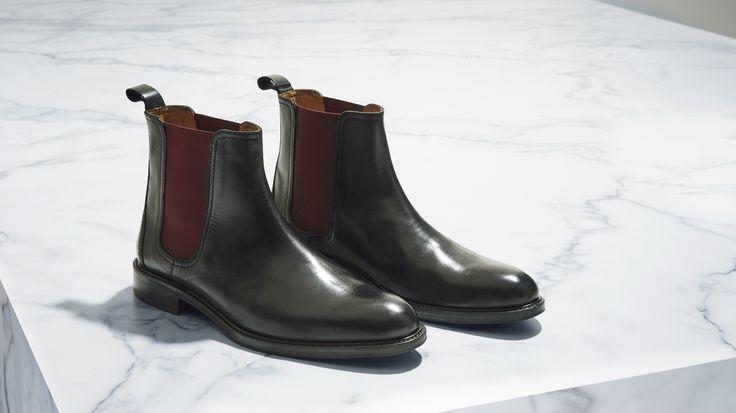 The Bits and Pieces - The Renton Boot http://www.calibre.com.au/shop/renton-boot-p2187/black-combo-pc1371