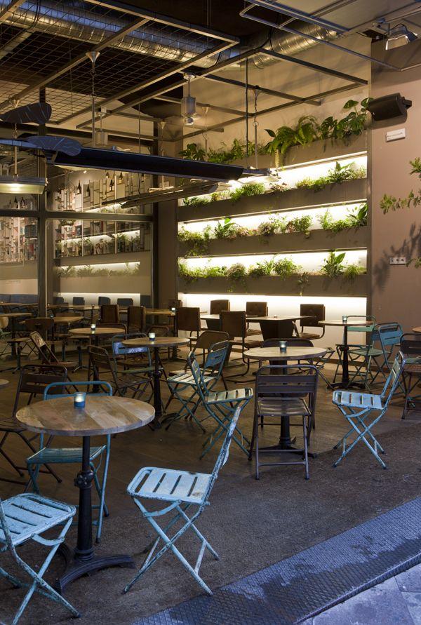 Una cafeteria en Madrid