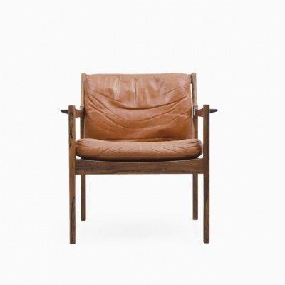 Located using retrostart.com > Lounge Chair by Sven Engström and Gunnar Myrstrand for Källemo