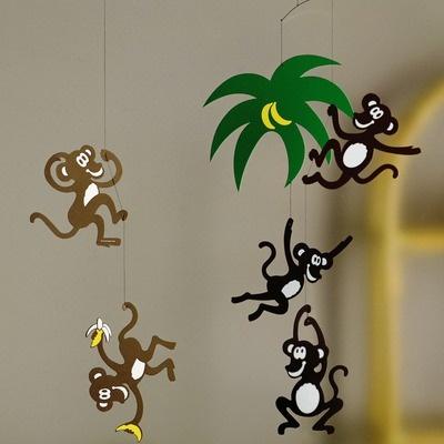 Flensted Mobiles Monkey Tree Mobile