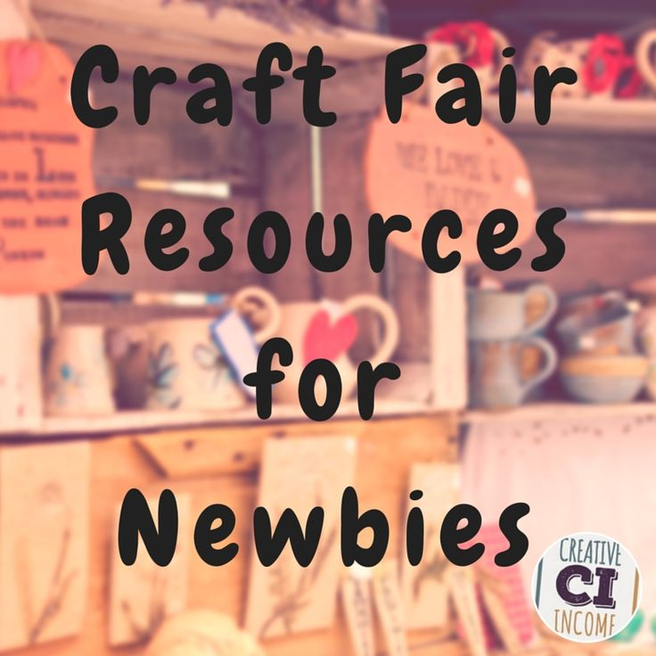 If you're thinking about selling at craft fairs for the first time, you've probably already noticed there is a lot of information out there for vendors! It's easy to become overwhelmed about starting this new aspect of your business. Today, I'm sharing several resources to help you start off your experience as a craft fair vendor on the right foot.