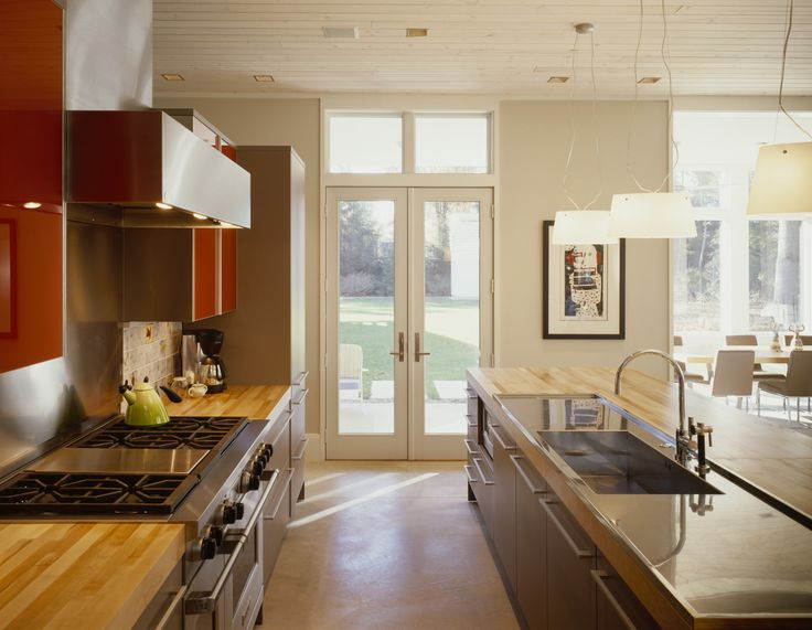 Ideal Located in southwestern Michigan this two story family retreat was conceived of as a