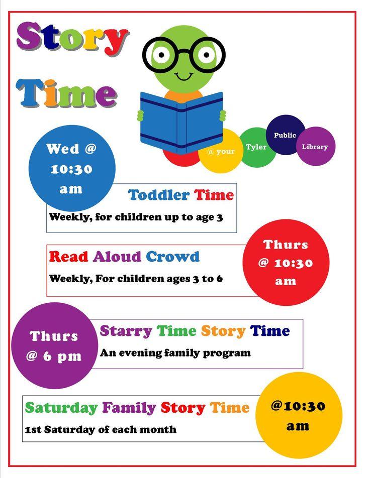 The UT Tyler Student Blog I Like Libraries Preschool